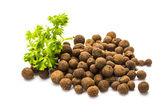Black pepper seeds — Stock Photo