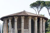 Rome - Vesta temple — Stock Photo