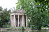 Villa Borghese Garden, Rome, Italy — Stock Photo