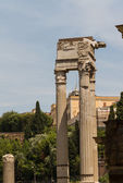 Ruins by Teatro di Marcello, Rome - Italy — Stock Photo