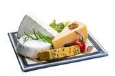 Asortyment odmian sera — Zdjęcie stockowe