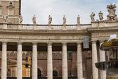 Budynki w watykanie, stolicy apostolskiej w rzymie, włochy. części s — Zdjęcie stockowe
