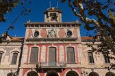 Barcelona - parlamentu autonomicznego katalonii. architektura gród. — Zdjęcie stockowe