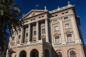 Budynek rządu wojskowych. barcelona, katalonia, hiszpania — Zdjęcie stockowe