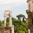 Stock Photo: Ruins by Teatro di Marcello, Rome - Italy