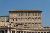 Byggnader i vatikanen, vatikanstaten i rom, italien. del av s — Stockfoto