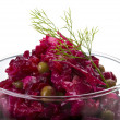 Vinaigrette Russibeetroot salad — Stock Photo #27263739