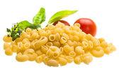Raw macaroni — Stock Photo