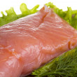 Stock Photo: Fresh trout fillet