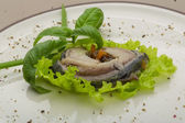 Herring fillet — 图库照片