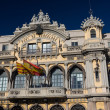 Port of Barcelona building in the city of Barcelona (Spain) — Stock Photo