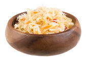 Sauerkraut - Russian national food — Stock Photo