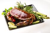 Big boiled crab — Stock Photo