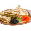 Stock Photo: Russian pancakes