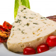Spanish cheese with mould — Stockfoto