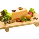 Old hard cheese — Stock Photo #29674849