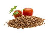 Mucchio di grano saraceno — Foto Stock