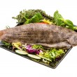 Fish Dover sole — Stockfoto #29922899