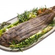 Fish Dover sole roasted — Stock Photo #29924011