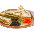 Russian pancakes — Stock Photo #30084459