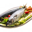 Atlantic raw sardine — Stock Photo
