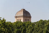 Synagogue and the Jewish ghetto at Rome — Stock Photo