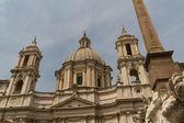 Saint agnese in agone in piazza navona — Stockfoto