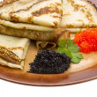 Russian pancakes — Stock Photo #31532079