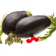 Stock Photo: Fresh eggplant