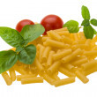 Raw macaroni — Stock Photo