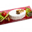 Fresh soft brie cheese — Stock Photo