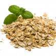 Oats pile — Stock Photo