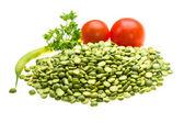 Dried peas — Stock Photo