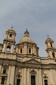 Saint Agnese in Agone in Piazza Navona, Rome, Italy — Stock Photo