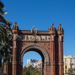 BarcelonArch of Triumph — Stock Photo #32197729