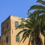 Old arabic town in Tunisia - Sidi Bu Said — Stock Photo