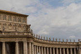Bâtiments au vatican, le Saint-siège à rome, Italie. partie de s — Photo