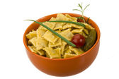 Ravioli with herbs — Stock Photo