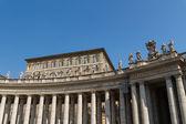 Saint Peter's Square, Rome, Italy — Stock Photo