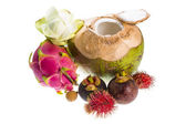 Thai fruit mix — Stockfoto