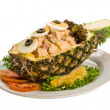 Pineapple and chiken salad — Stock Photo #33258041