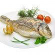 Dorado grilled — Stock Photo