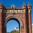 BarcelonArch of Triumph — Stock Photo #33259257