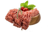 Stuffed raw meat — Stock Photo