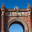 BarcelonArch of Triumph — Stock Photo #33490241