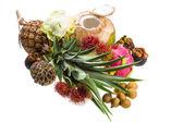 Mezcla de frutas tailandesa — Foto de Stock