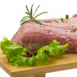 Raw pork meat — Foto Stock