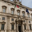 Rome, the Consulta building in Quirinale square. — Stock Photo