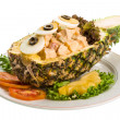 Pineapple and chiken salad — Stock Photo #33903653