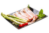 Spanish ham - Hamon — Stock Photo